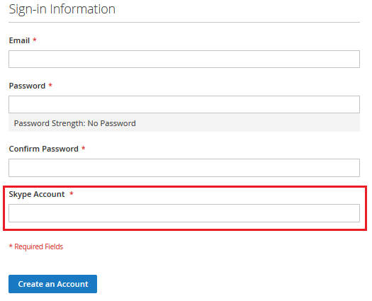 How to Add Custom Field in Magento 2 Registration Form