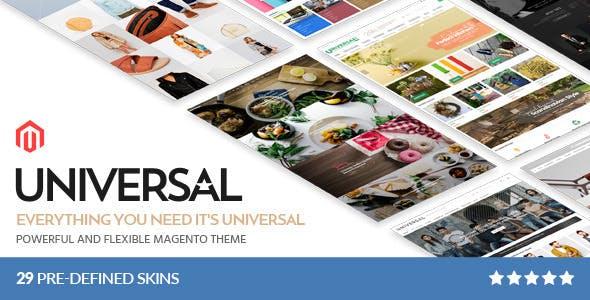 Universal - Multi-Purpose Responsive Magento 2.3.2 Theme