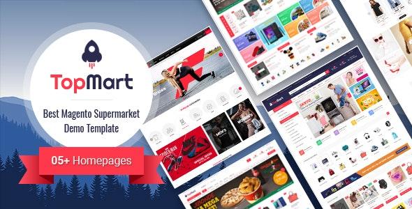 TopMart - MultiPurpose Responsive Magento 2 Shopping Theme