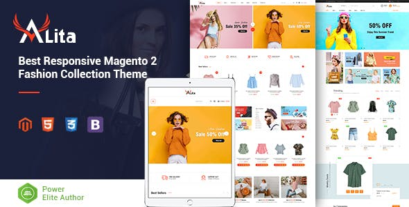 Alita - Responsive Magento 2 Fashion Store Theme